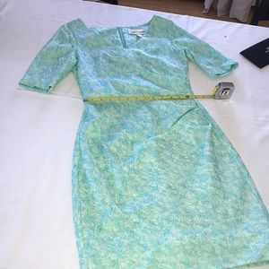 SARA CAMPBELL SIZE 4 DRESS FULY LINED ZIP BACK